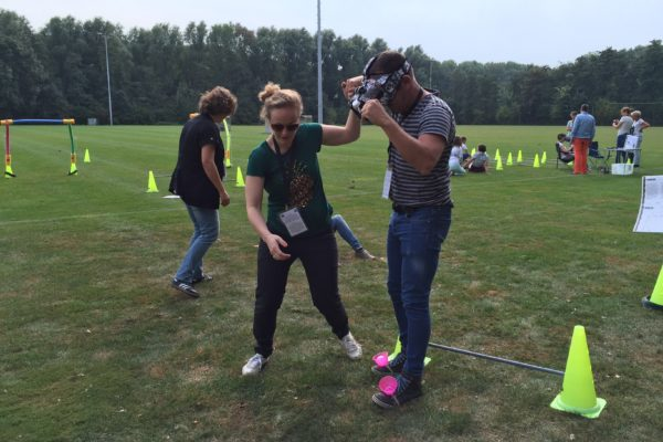 Outdoor VR parcours
