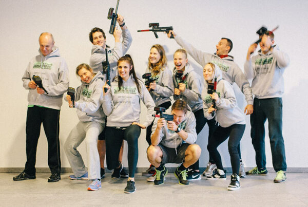 teambuilding laser shooting
