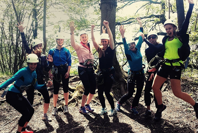 Outdoor teambuilding Ardennen