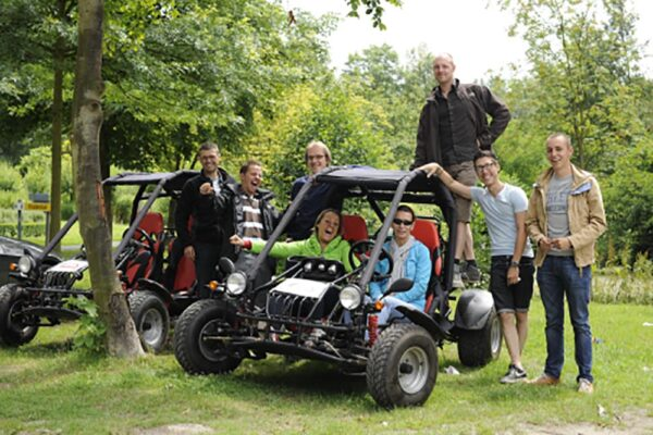 Buggy adrenaline teambuilding