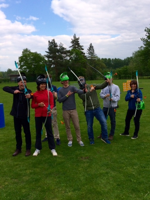 Arrow Tag teambuilding Funkey