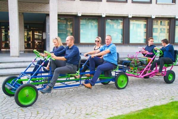 teambuilding go-cart