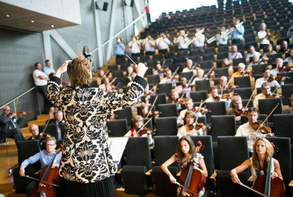 Orchestrate muziek teambuilding Funkey