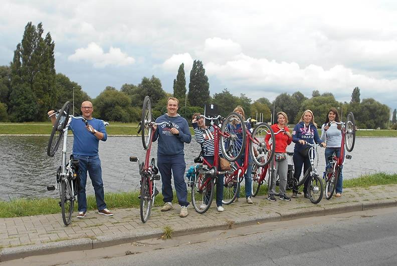 The Bike Game gps fiets teambuilding Funkey