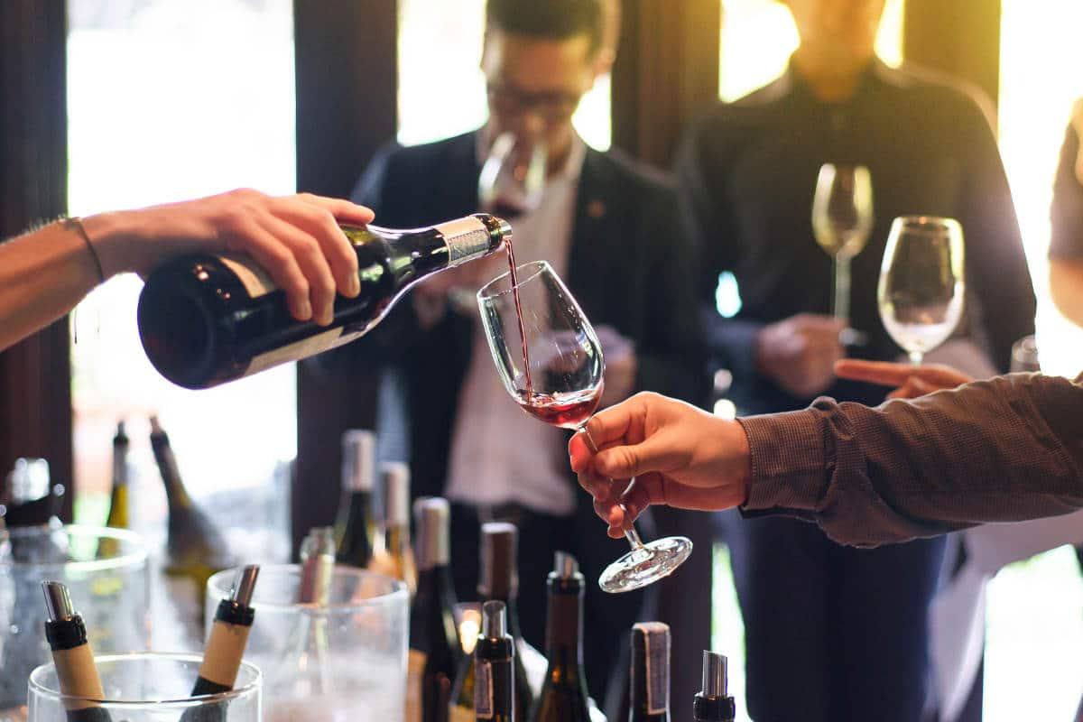 Wine tasting getest en goedgekeurd!