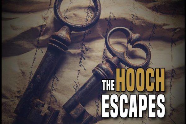 Sleutels en tekst Hooch escpaes