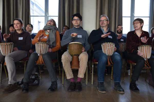 Lach percussie workshop
