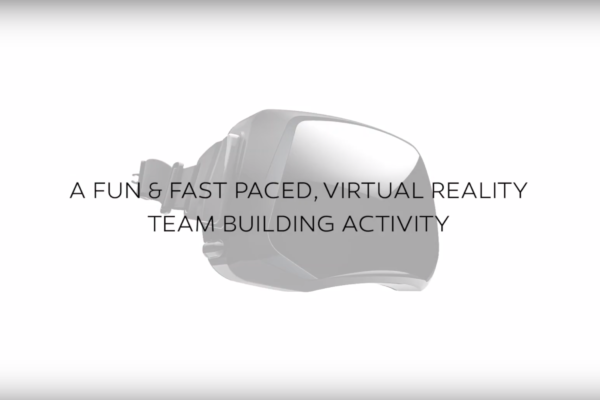 A FUN FAST PACED VIRTUAL REALITY TEAMBUILDING ACTIVITY