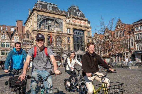 Vrijdagsmarkt-fietstour-Gent