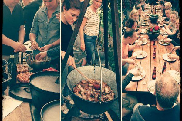 Adventure Cooking teambuilding