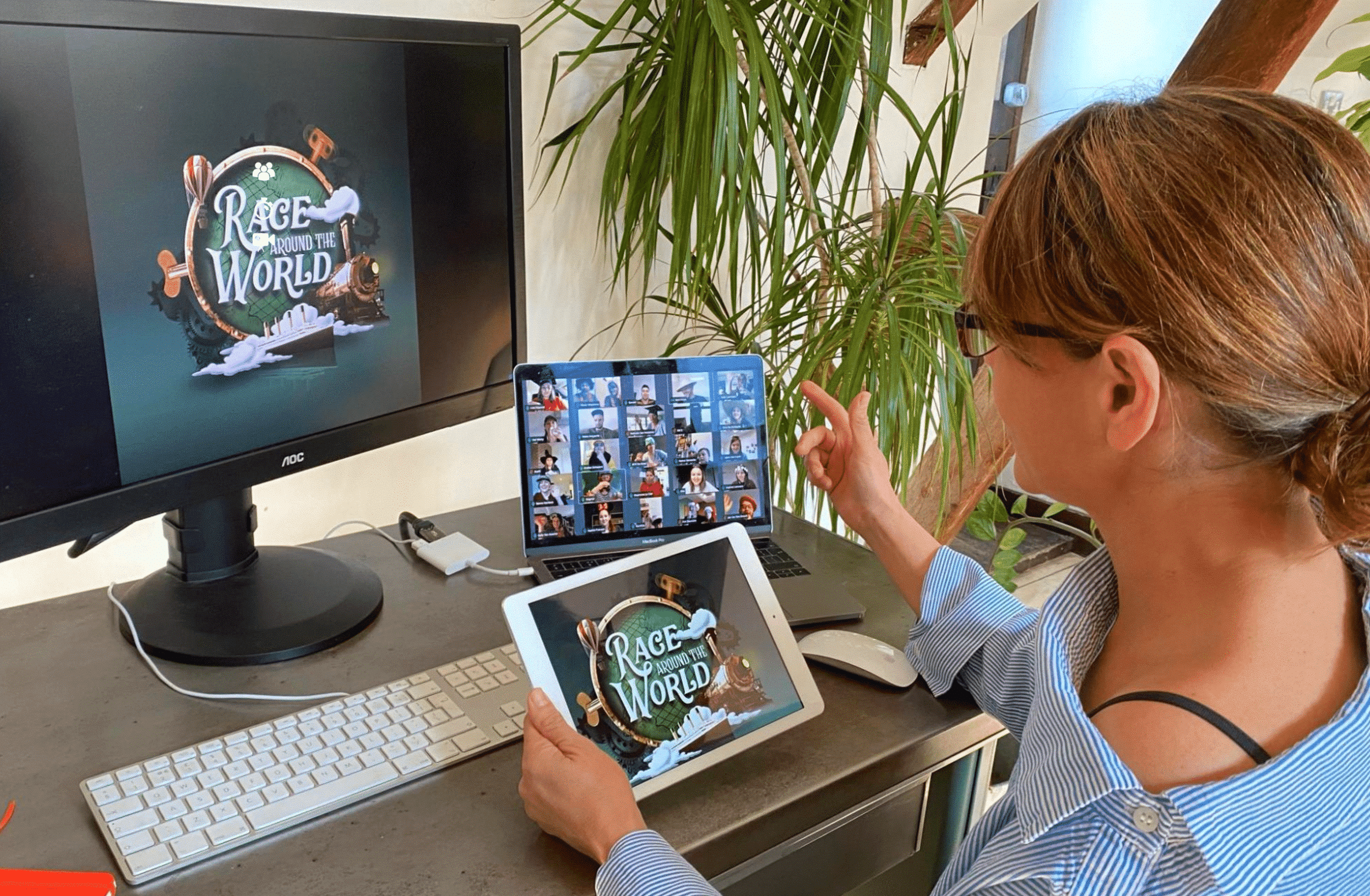 Online teambuilding 'Race Around the World' getest en goedgekeurd!