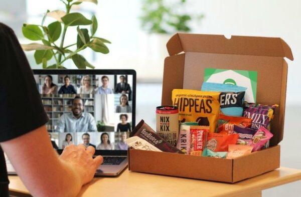Healthy snackbox online event