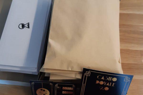 Post pakketjes