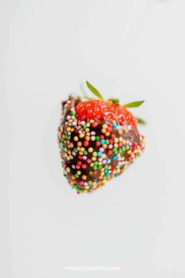 Chocolade aardbei