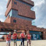 E-steptour in Antwerpen aan het MAS