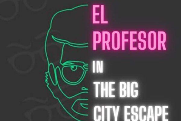 El Profesor escape game